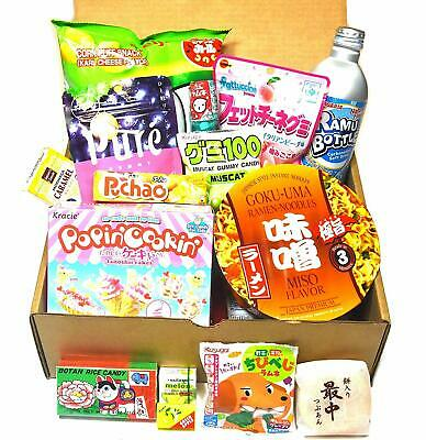 JAPANESE MISTERY BOX (snacks, chips,sweets,drinks and so on FROM JAPAN!)