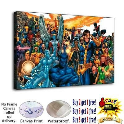 """12""""x20"""" Super hero HD Canvas prints Painting Home Decor Room Picture Wall art"""