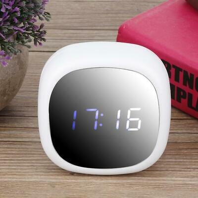 LED Mirror Digital Alarm Clock Household Mute Clock Makeup Mirror Alarm Clock
