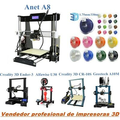 Creality 3D Geeetech Anet Impresora 3D Printer DIY Impresión Kit Desktop 1.75mm