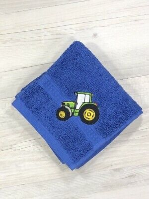 Kids Face Washer Tractor Baby Birthday Gift Christmas