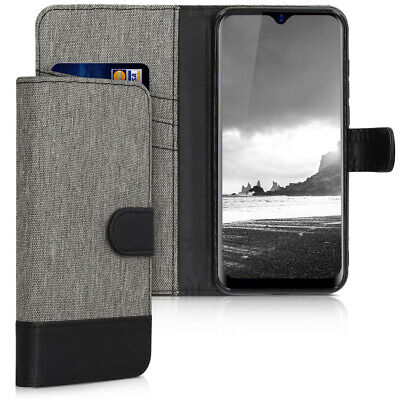 Fabric PU Leather Wallet Case for Blackview A60 Pro 4G