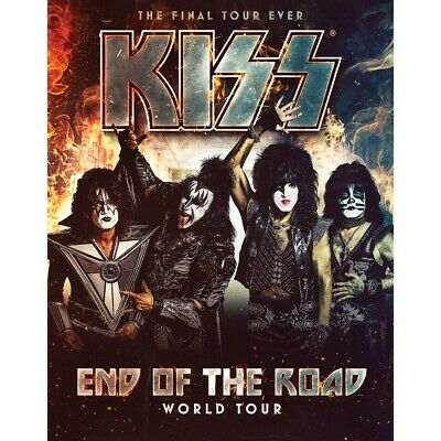 KISS - End of the Road Tour 2020 2x Tickets Hamburg 15.06.2020 Barclaycard Arena