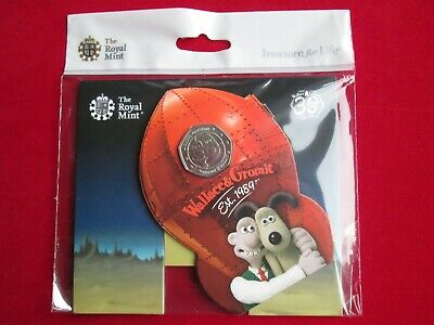 2019 Wallace and Gromit 30th Ann. RARE 50p Coin BUNC Mint Condition Presentation