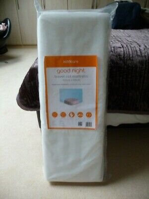 Brand New top of the range travel cot mattress, unopened.