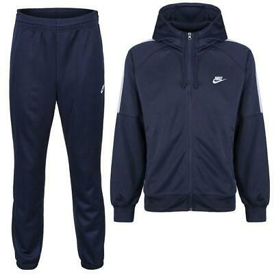 Mens Navy Nike tribute Full Tracksuit top and bottoms various sizes regular