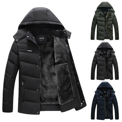 Gefütterte Just Jacke Herren Winterjacke Winter Key Warme wZiOPkXTu
