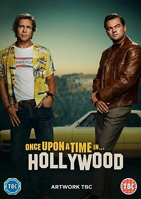Once Upon a Time In... Hollywood [DVD] RELEASED 09/12/2019