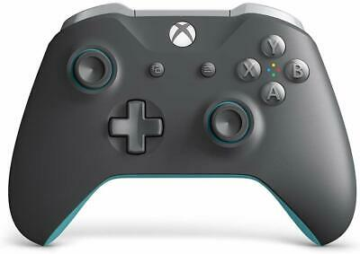 Microsoft Xbox One and Windows 10 PC Wireless Controller Bluetooth - Gray / Blue