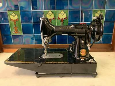 Singer Red S 222k Featherweight Sewing Machine