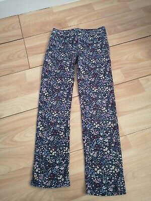 Gorgeous Girls Flowery Trousers - Size 8-9 Years