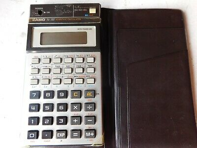 Vintage Retro Casio FX-310 Scientific Calculator LCD Good Condition with case