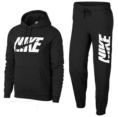 New Men's Nike Poly Full Tracksuit Jogging Bottoms Sweat Pants Hoodie Jacket