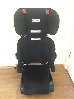 Infasecure folding black child's Booster Seat - hardly used
