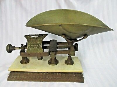 Dodge Micrometer Scale w/ Level Fully Intact COMPLETE & RARE! 1898 1902 Antique