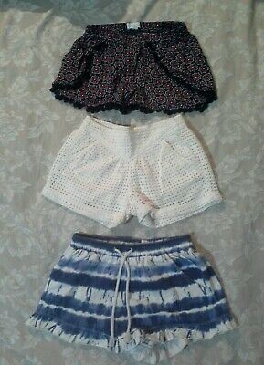 GIRL'S country road & pumpkinpatch shorts SIZE 6-7  Guc