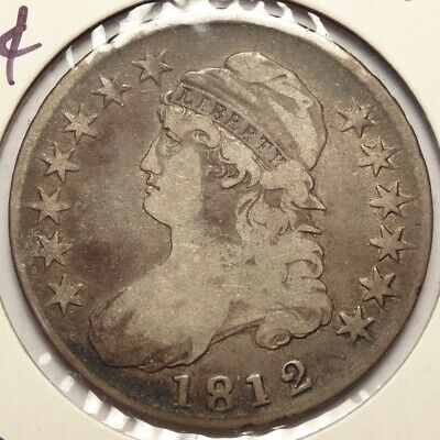 1812 Capped Bust Half Dollar   1104-09