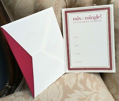 """William Arthur Thank You Notes with envelopes 10 count B59246 3.75 x 5/"""" NIB"""