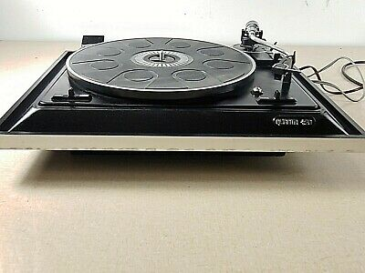 Vintage BSR Quanta 400 Belt Drive Record Player Turntable and Cartridge