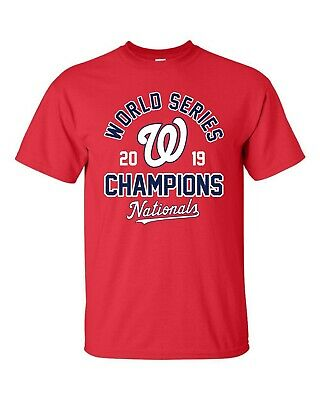 Washington Nationals 2019 World Series Champions T-Shirt - S-5XL Free Shipping!