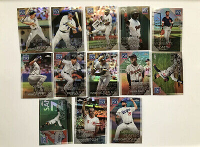 New! 2019 Topps Chrome Update 150 Years & Family Business Inserts Free Shipping!