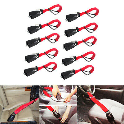 10x Steering Wheel Style Security Lock Anti Theft Security Car Truck SUV