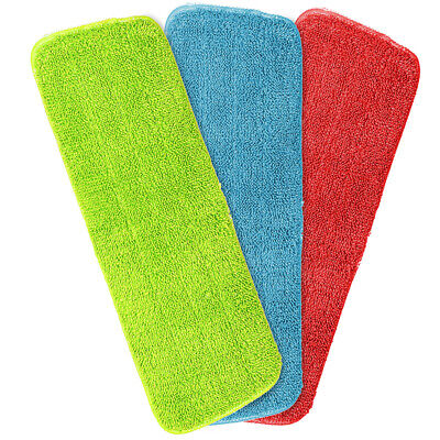 Washable Household Mop Heads Cleaning Cloth Microfiber Pad Mop Replacement Pads