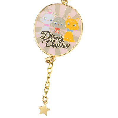 Disney Classics Japan The Aristocats Marie Keychain Purse Bag Charm Tokyo Parks