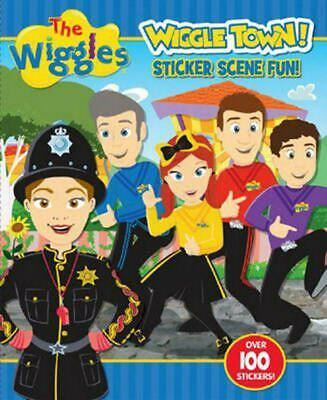 The Wiggles: Wiggle Town! Sticker Scene Fun by The Wiggles Paperback Book Free S