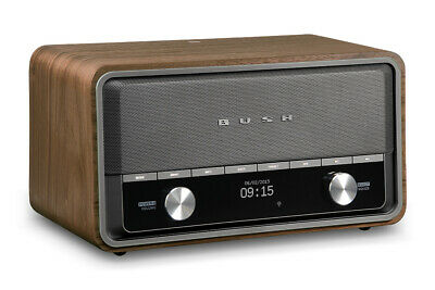 BUSH Heritage II-WD DAB+/FM Bluetooth Wi-Fi Internet Radio-Refurbished Good cond