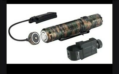 Olight M2R PRO Warrior Bundle Special Edition Camouflage w/ RWX-7 and E-WM25