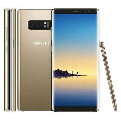 Samsung Galaxy Note 8 - N950F Unlocked LTE 4G Mobile 64GB New Sealed Box 4 Color