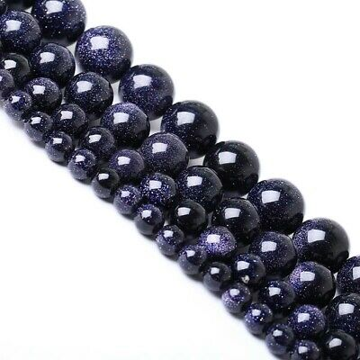 1strand Natural Blue Sand Stone Round Loose Beads 15.5inch 4mm,6mm,8mm,10mm.12mm
