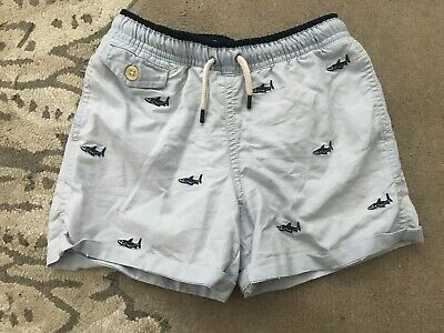 Ralph Lauren Boys Blue Shark Swimming Shorts Age 6