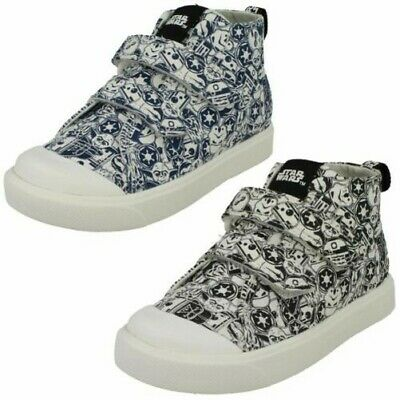 Boys Clarks Elasticated Lace Detailed Trainers /'Orbit Race/'
