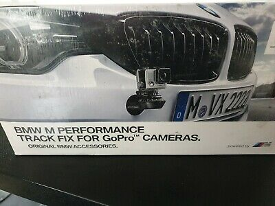 BMW OEM GoPro Camera Track Fix M Performance Front Bumper Mount 51952409093. NEW