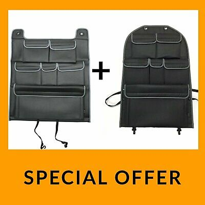 VW T5 T5.1 Transporter Back Seat Organiser Single + Double