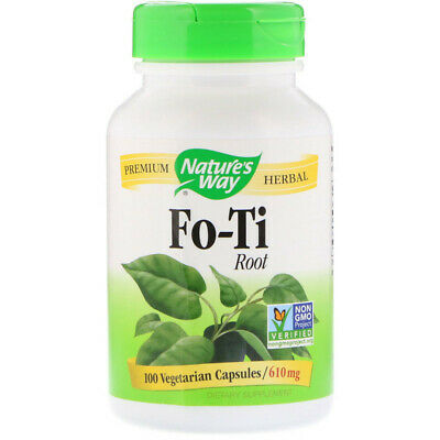Fo-Ti Root | 100 Veg Capsules | Strong Resveratrol Content | Heart Cardio Health