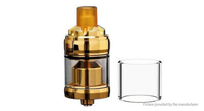 Reload Styled MTL RTA Rebuildable Tank Atomizer Gold