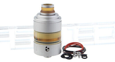 Coppervape Hussar Project X Styled RTA Rebuildable Tank Atomizer Satin Gray