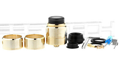 Authentic Vandy Vape Widowmaker RDA Rebuildable Dripping Atomizer Gold