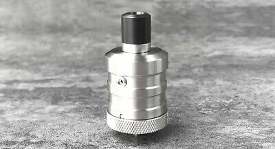 YFTK Flash e-Vapor BF-1 Styled RDA Rebuildable Dripping Atomizer Silver