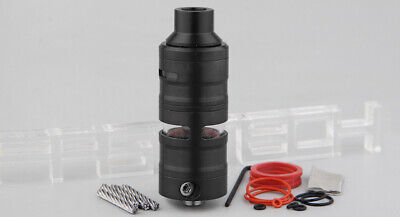 Gevolution V2 Styled Mesh RDTA Rebuildable Dripping Tank Atomizer Black
