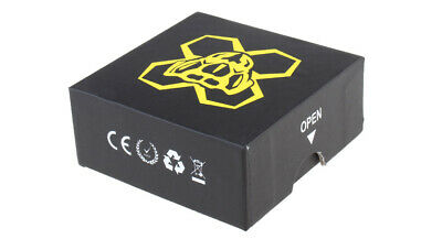 Dead Yellow Jacket Styled RDA Rebuildable Dripping Atomizer Black