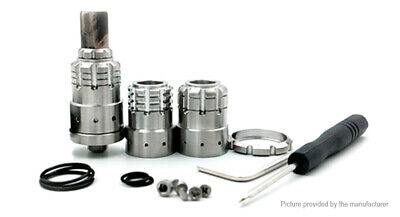 Kindbright 900 BF Styled RDA Rebuildable Dripping Atomizer Silver