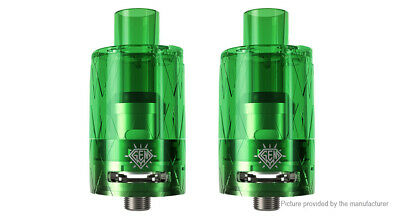 Authentic FreeMax GEMM Disposable Tank Clearomizer (2-Pack) Green