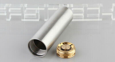 SP 18650 Hybrid Mechanical Mod Silver