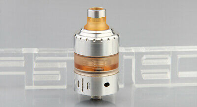 Hussar Project X Styled MTL RTA Rebuildable Tank Atomizer Silver