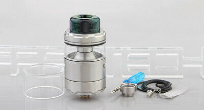 Profile Unity Styled RTA Rebuildable Tank Atomizer Silver