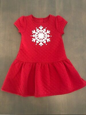 Gymboree Girls Snowman Fleece Dress 18 24 2T 4T NEW RETAIL $39.95